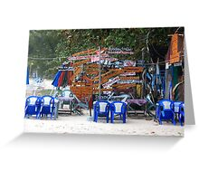 Crazy Signs - Thailand Greeting Card