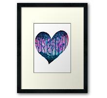 Love Nature Framed Print