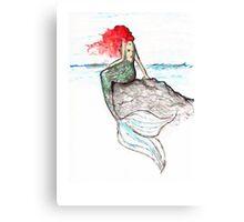 Mermaid - intense color version Canvas Print