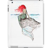 Mermaid - intense color version iPad Case/Skin