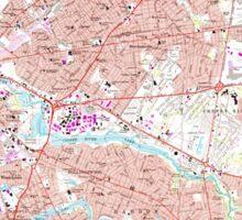 USGS TOPO Map New Jersey NJ Camden 254238 1967 24000 Sticker
