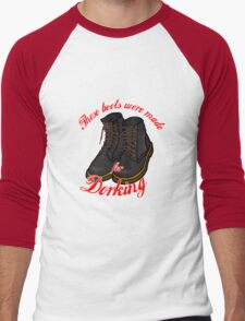These Boots Were Made For Dorking Men's Baseball ¾ T-Shirt