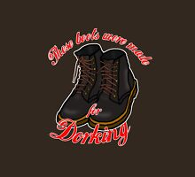 These Boots Were Made For Dorking Womens Fitted T-Shirt