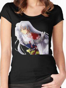 Sesshomaru  Women's Fitted Scoop T-Shirt