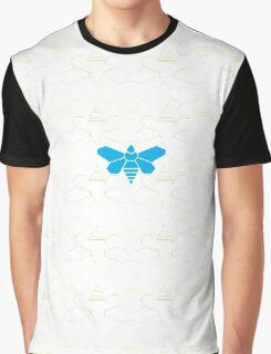 Breaking Bad Bee White Graphic T-Shirt