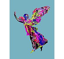 Graffiti angel  Photographic Print