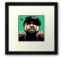 AMERIKKKA'S MOST Framed Print