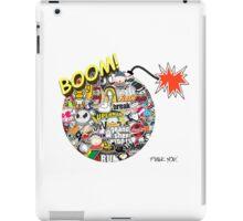 Sticker Bomb iPad Case/Skin