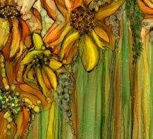 Wild Sunflower Garden Sticker