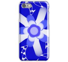 Mysterious Blue iPhone Case/Skin