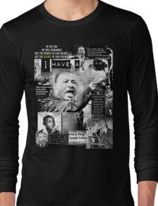 martin luther king jr Long Sleeve T-Shirt
