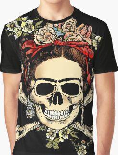 Masterpiece Skull Frida Graphic T-Shirt