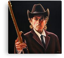 Bob Dylan Painting 2 Canvas Print