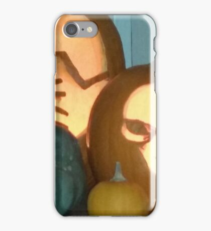 Spooky, scarey pumpkins iPhone Case/Skin