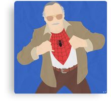 Stan Lee (Simplistic) Canvas Print