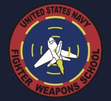 US Navy Top Gun Logo Kids Tee
