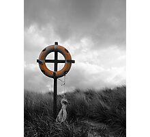 Christian Lifesaving Cross Photographic Print