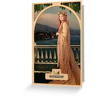 The Empress Greeting Card