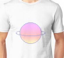 ombre pixel planet Unisex T-Shirt