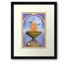 The Ace of Cups Framed Print