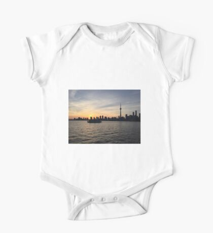 Toronto Cityscape Sunset One Piece - Short Sleeve