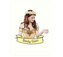 Belle French - Beauty Queen Art Print
