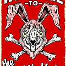 Rabbit Hole SIgn by ZugArt