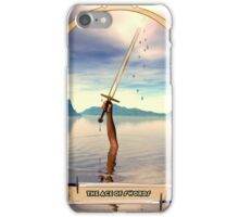 The Ace of Swords iPhone Case/Skin