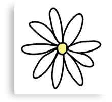 tumblr daisy Canvas Print