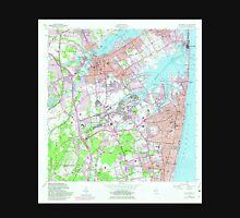 USGS TOPO Map New Jersey NJ Long Branch 254541 1954 24000 Unisex T-Shirt