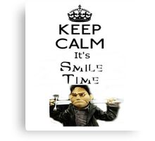 Buffy Angel Smile Time Canvas Print