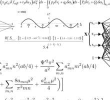 Equations Sticker