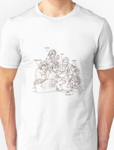Roll Call The Breakfast Club Movie Quote T-Shirt