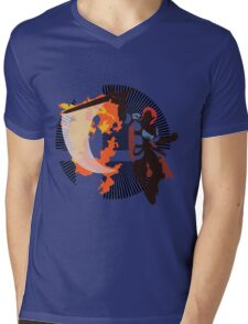 Roy (Smash 4) - Sunset Shores Mens V-Neck T-Shirt