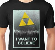I want to believe in the Triforce Unisex T-Shirt