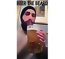 beer the beard Photographic Print