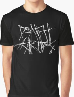 Death Grips - Scratched Logo Graphic T-Shirt