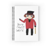 Willy Wonka Chibi Spiral Notebook
