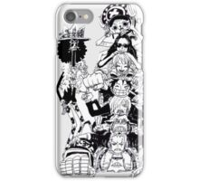 ONE PIECE - LUFFY'S TEAM :D iPhone Case/Skin