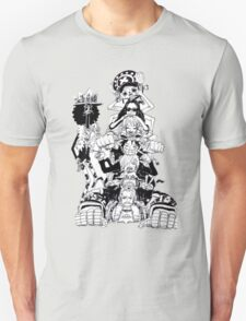ONE PIECE - LUFFY'S TEAM :D Unisex T-Shirt