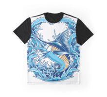 Blue Marlin Graphic T-Shirt