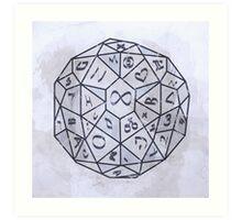 Dungeons dungeons Art Print