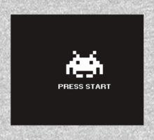 Press start - Arcade Game One Piece - Long Sleeve