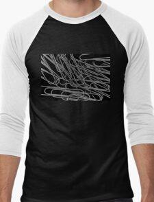 Paper clips Men's Baseball ¾ T-Shirt