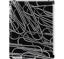 Paper clips iPad Case/Skin