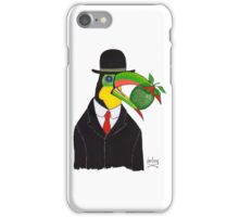 Toucan With Bowler Hat and Apple iPhone Case/Skin