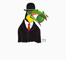 Toucan With Bowler Hat and Apple Unisex T-Shirt
