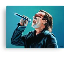 Bono of U2 Painting Canvas Print