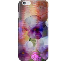 Paint me a garden iPhone Case/Skin