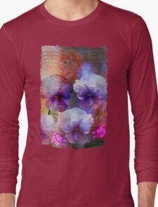 Paint me a garden Long Sleeve T-Shirt